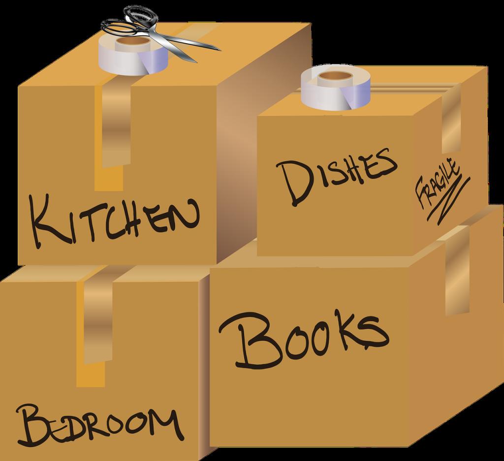 Krabice důkladně označte