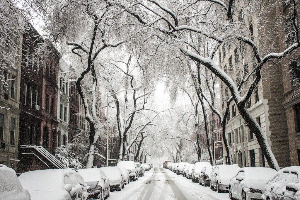 Stěhování v zimě