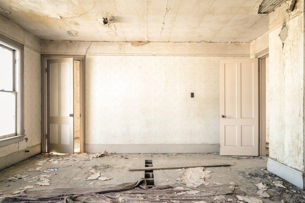 Poškození bytu při stěhování