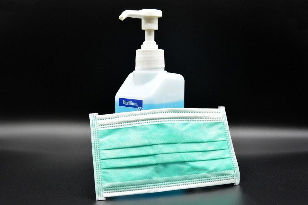 Mějte po ruce vhodné čisticí prostředky