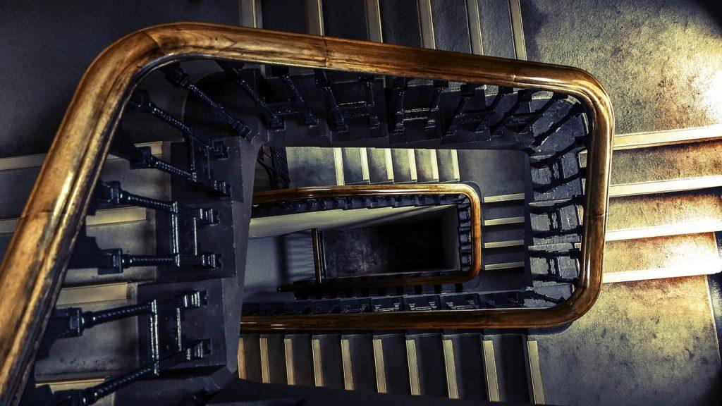Schodiště bez výtahu